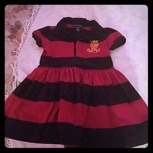 Ralph Lauren girl striped dress